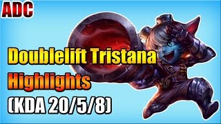TSM Doublelift - Tristana vs Quinn - ADC - Highlights (Dec 04, 2015)