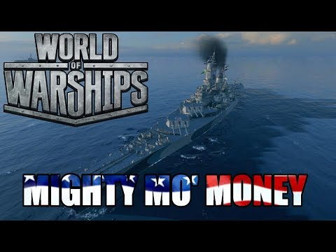 World of Warships - Mighty Mo Money