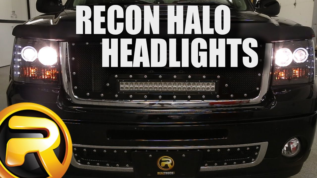 How To Install Recon Projector Headlights Youtube 2007 Ford F 250 Super Duty Wiring Diagram Park Lights