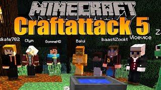 Minecraft Craft Attack 5 #01 - Ein neues Projekt beginnt!