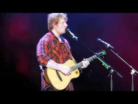Ed Sheeran - Feeling Good/I See Fire - Gillette Stadium 9/25/15