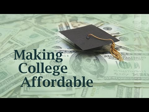 Carolina Classrooms: Making College Affordable Fall 2017