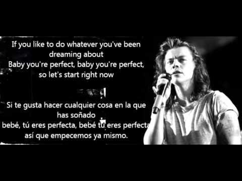 Perfect - One Direction (Inglés - Español)