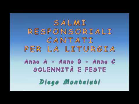 SALMI RESPONSORIALI CANTATI (Diego Montaiuti)