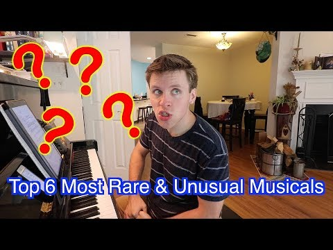 Top 6 Most Rare and Obscure Musicals