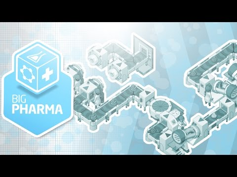 LOSING WEIGHT WITH DRUGS - Big Pharma Gameplay E02 | Docm77