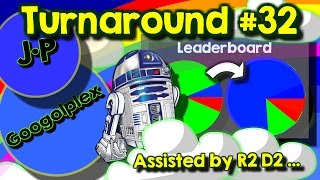 [REUPLOAD AVAILABLE IN ALL COUNTRIES] Agario team mode turnaround #32 with Googolplex and R2D2