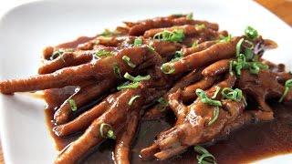 Chicken FEET Taste Test & Dim Sum Recipe - You Made What?!