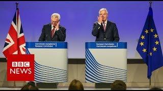 Brexit negotiations: Barnier urges more