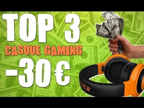 TOP 3 CASQUE GAMER PAS CHER A MOINS DE 30 € ! [PC - CONSOLES]
