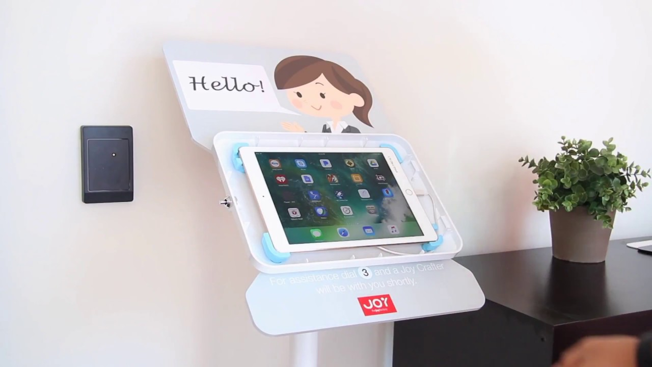 The Joy Factory How To Virtual Tablet Receptionist Using An Elevate II Kiosk