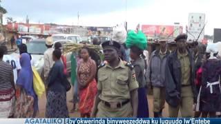Eby'okwerinda binyweezeddwa ku luguudo lw'Entebe thumbnail