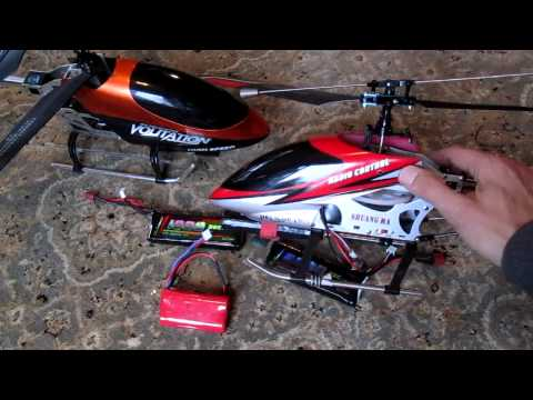 Battery Upgrade For The Double Horse 9104, 9101 And Volitation 9053 Helicopters