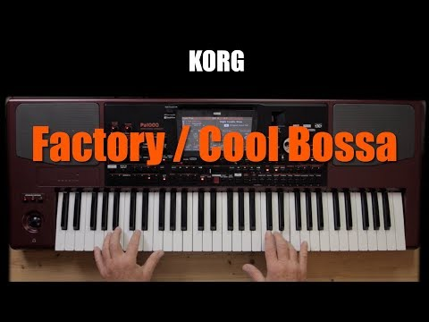 KORG PA1000 - Factory / Cool Bossa #28