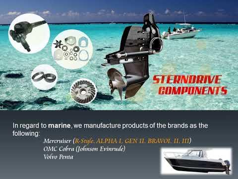 Gears for Mercury Mercruiser Inboard / Sterndrive