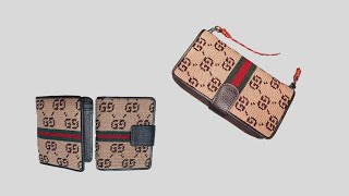 ((코바늘)) 구찌  지갑 or 핸드폰지갑