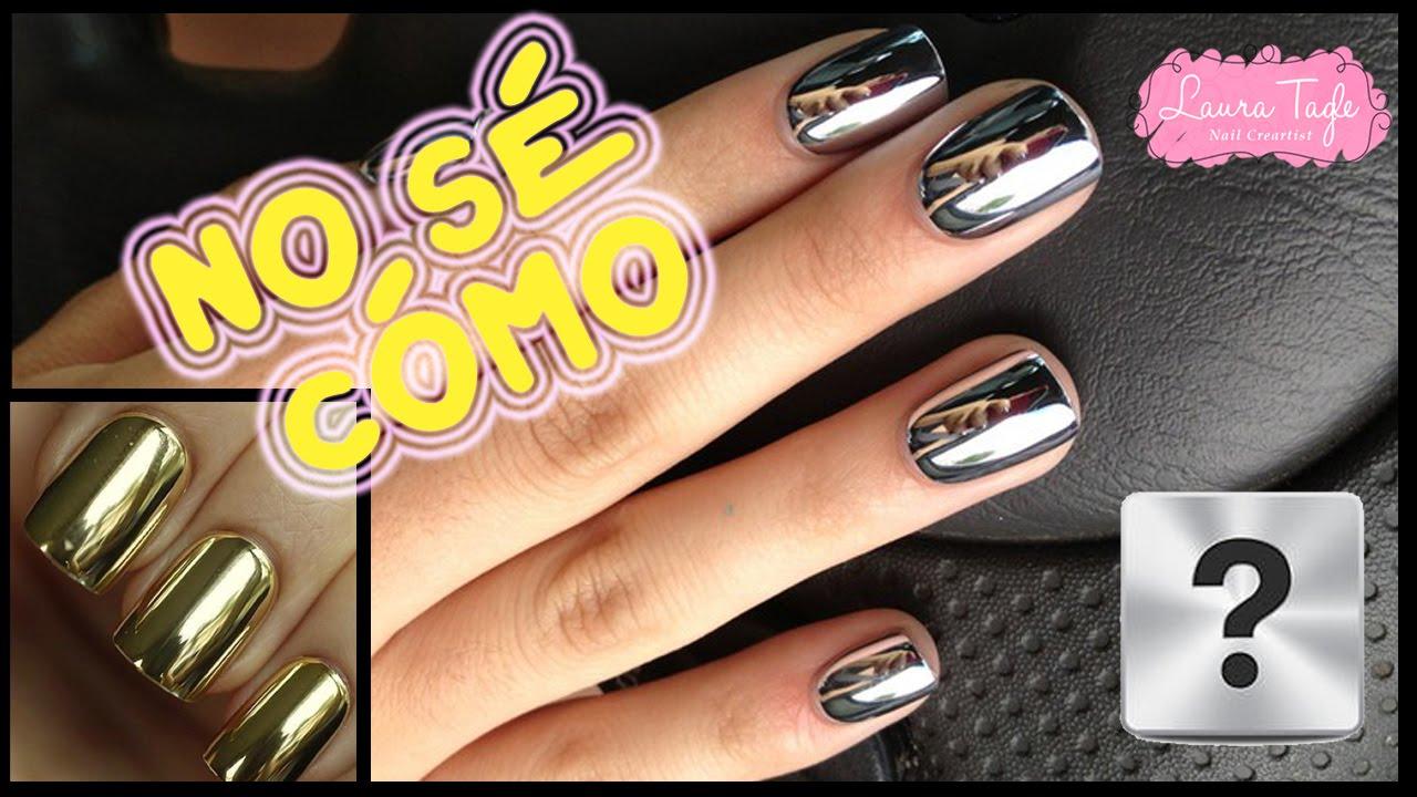Cómo hago el esperado Efecto Cromo para uñas con pigmentos ...