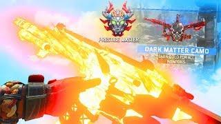 I GOT DARK MATTER CAMO! UNLOCKING DARK MATTER REACTION! (Black Ops 4)