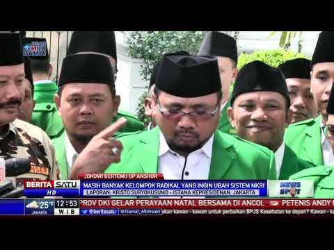 Jokowi dan GP Ansor Bahas Situasi Politik di Sejumlah Daerah