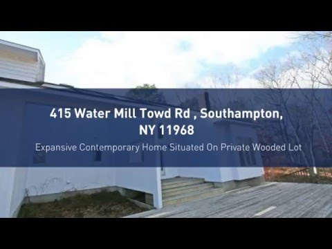 415 Water Mill Towd Rd, Southampton, NY - Homes for Sale in the Hamptons