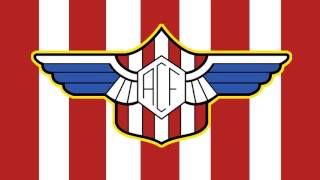 Bandera y Escudo del Alondras Club de Fútbol - Cangas de Morrazo (Pontevedra)