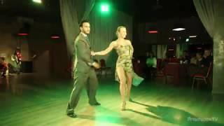 """Los Rosales (Liza Rosales и Juan Manuel Rosales) Tango En Vivo, 3-4, """"A Lesson Of Love"""" Planetango"""