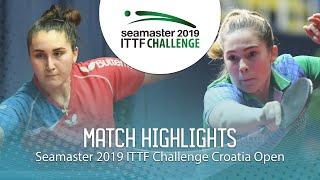 Екатерина Чернявская vs Aleksandra Vovk | Croatia Open 2019 (Group)