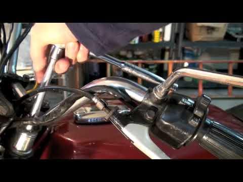 Motorcycle Fork Oil Change Part 1