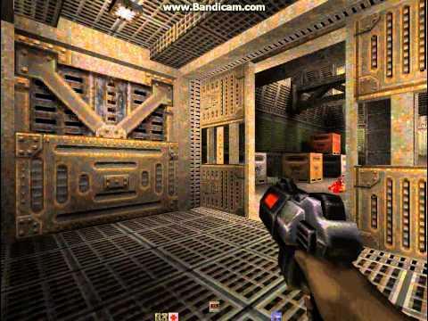 Quake 2 Игра-прохождение, ностальгия шутер, часть1.