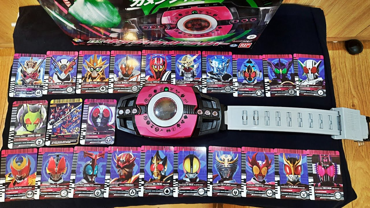 Download Review Neo Decadriver P.2: Các Rider Card Đặc Biệt. Kamen Rider Decade. 仮面ライダーディケイド 【DXネオディケイドライバー】