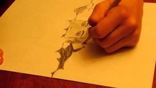 [Peek Thrugh Paper] amateur! speed draw