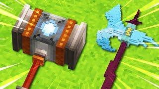 Discovering SECRET Minecraft OP Weapons...