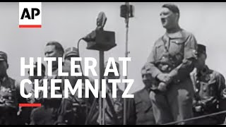 Hitler Fires Great Nazi Rally