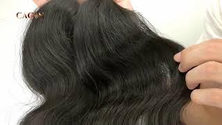 CACIN raw virgin hair body wave, Brazilian hair, Peruvian hair, Indian hair, Malaysian hai ...