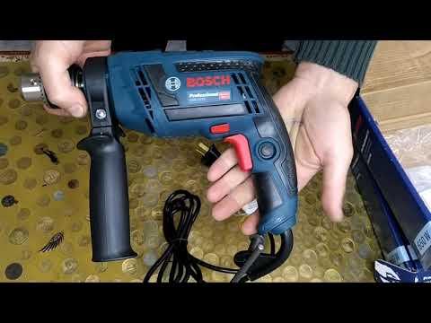 taladro Bosch GSB 13 RE unboxing de nueva herramienta