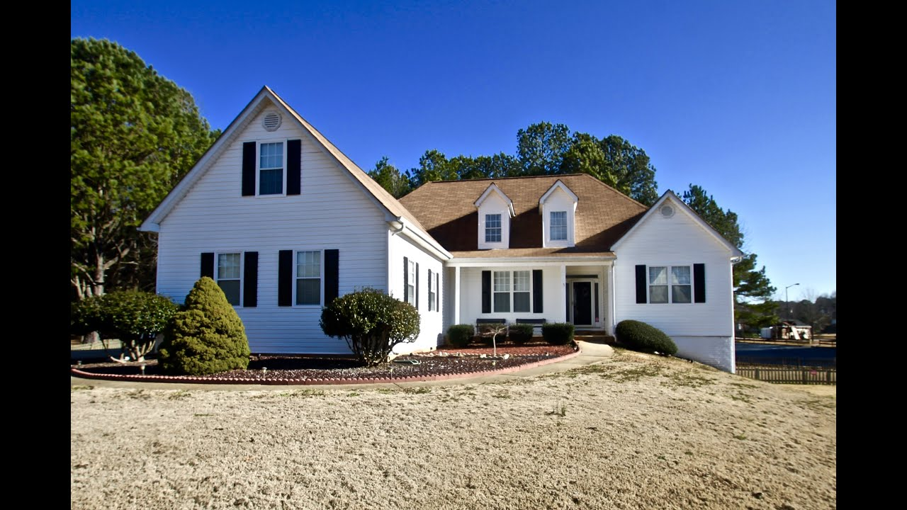 newnan ga home for sale woodstream at white oak youtube. Black Bedroom Furniture Sets. Home Design Ideas