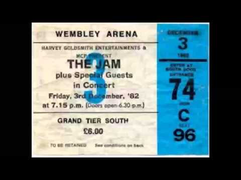 The Jam Final Tour Live Wembley 3 Dec 1982 (Pro Recorded HQ Audio Only)