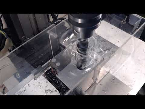 Drilling Large Holes on the Mini Mill