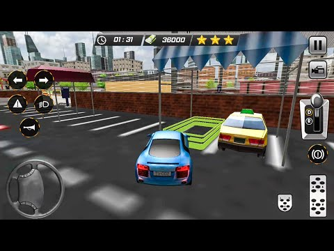Smart Car Driving School 3D Airport Parking Mania - Android Gameplay FHD