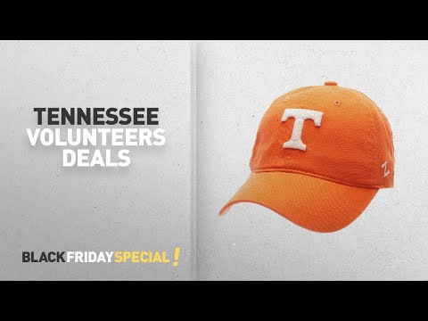 Black Friday Tennessee Volunteers Deals: NCAA Tennessee Volunteers Men's Scholarship Relaxed Cap,