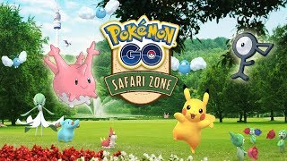 ¡ACTUALIZACIÓN CORSOLA, UNOWN, HUEVOS 2Km ESPECIALES y más en el Pokémon GO SAFARI ZONE! [Keibron]