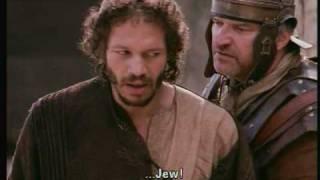 Stations of the cross :: Simon of Cyrene helps Jesus
