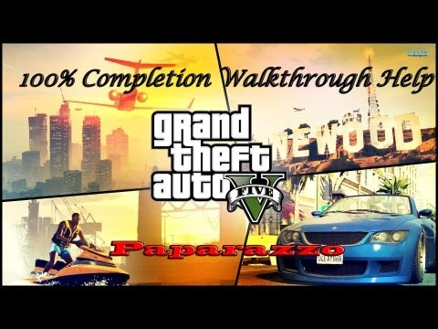 Grand Theft Auto V: Strangers and Freaks Gold Status Walkthrough: Paparazzo (100% Completion)