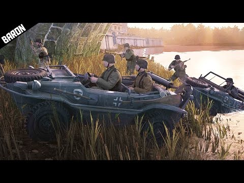 Schwimmwagen German Amphibious Assault & Funny Moments - Heroes and Generals Gameplay