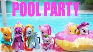 MLP Mane Six POOL PARTY!~!