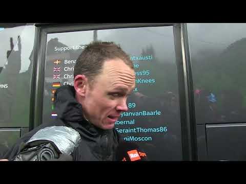 Chris Froome - intervista post gara - Tappa 15 - Giro d'Italia 2018