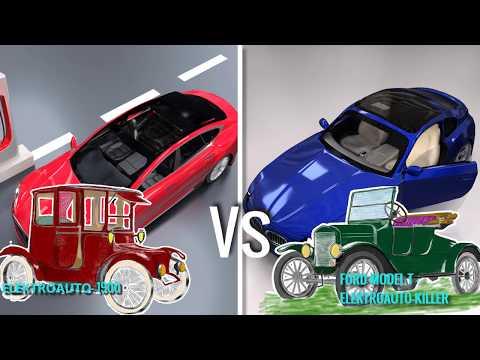 Wie funktioniert ein Elektroauto ? | Tesla Model S