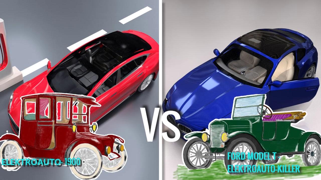 Elektroautos vs. Benzinautos - YouTube