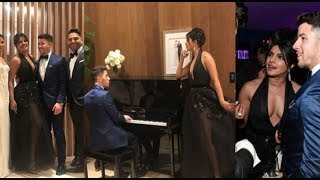 Nick Jonas and Wife Priyanka Chopra Jonas UNSEEN CUTE Moments at Vanity Fair Oscars Party 2019