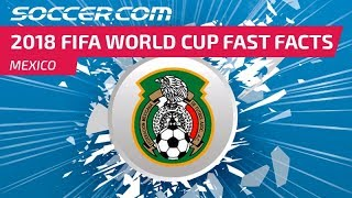 Mexico - 2018 FIFA World Cup Fast Facts